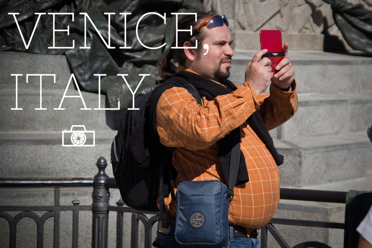 In Venice, everybody's a photographer
