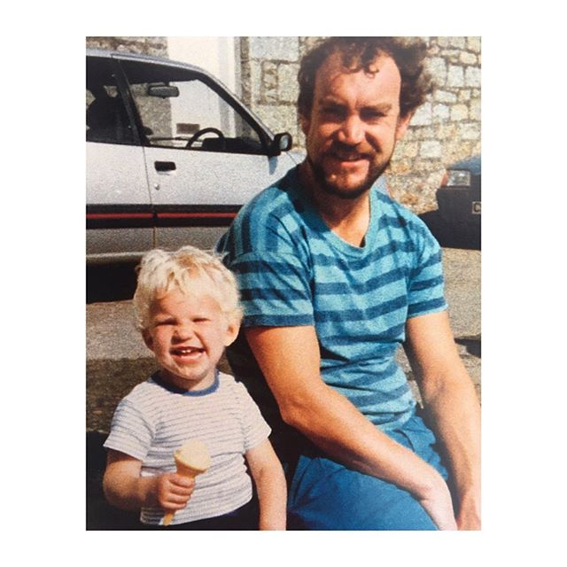Happy Father's Day to these two top Dads!!! One who we miss like crazy. One who he would be super proud of the Dad you have become. 💙