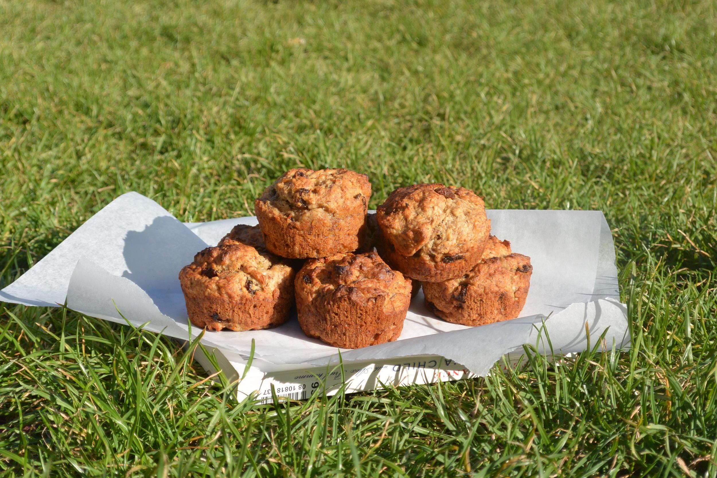 Cherry Coconut Muffin