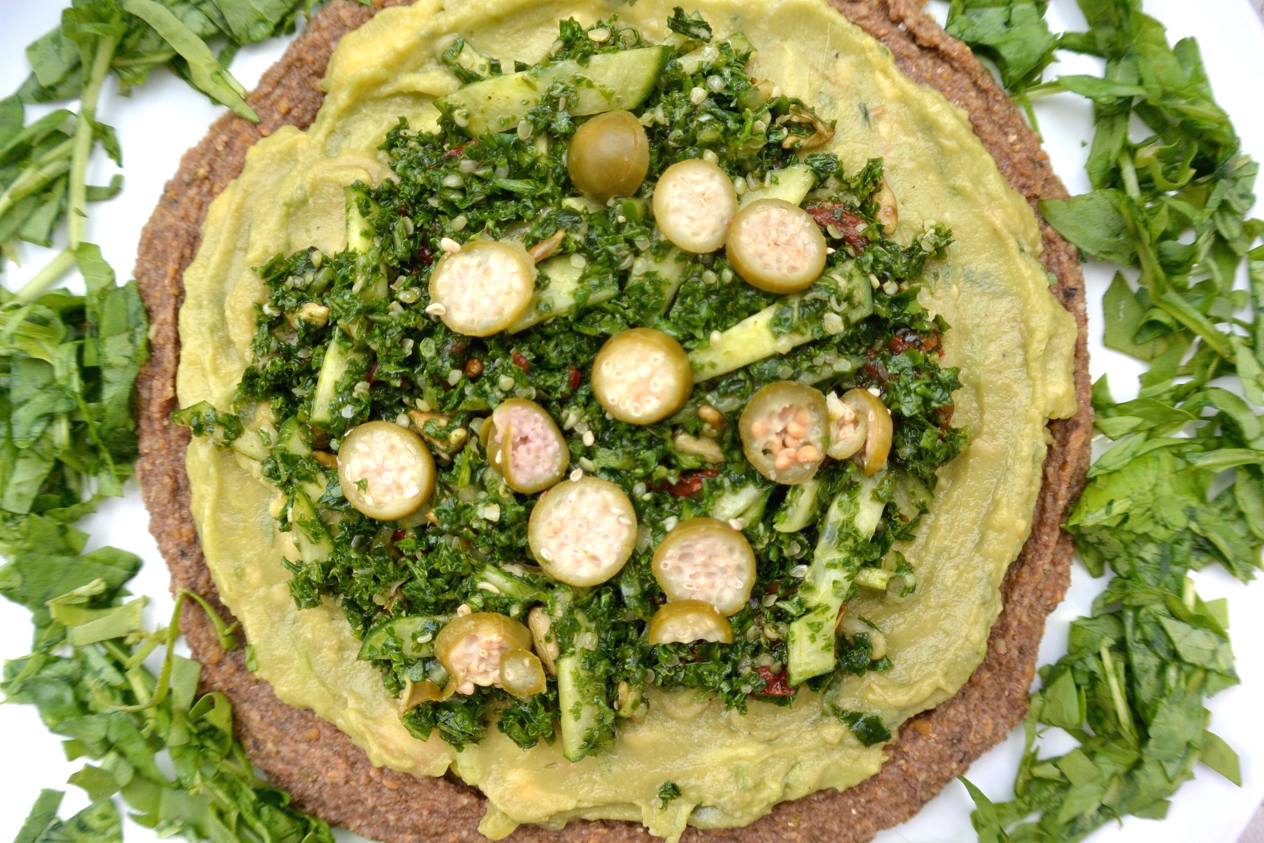 Green Pizza at Nama