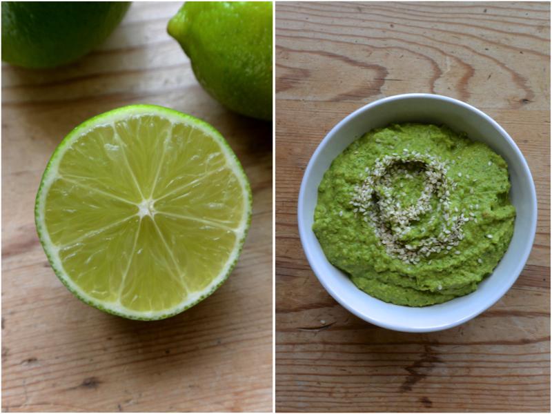 Asian Pea Hummus | The Herb Diaries