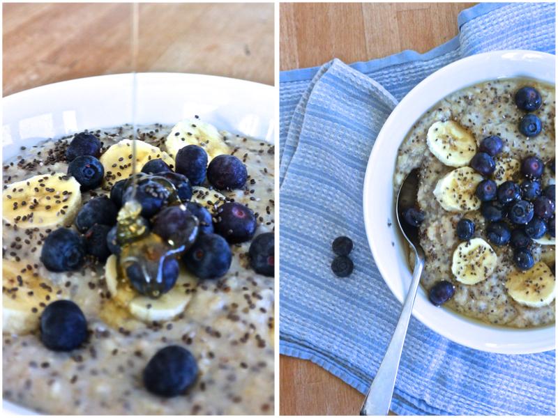 The Simplest Chia Oat Porridge   The Herb Diaries