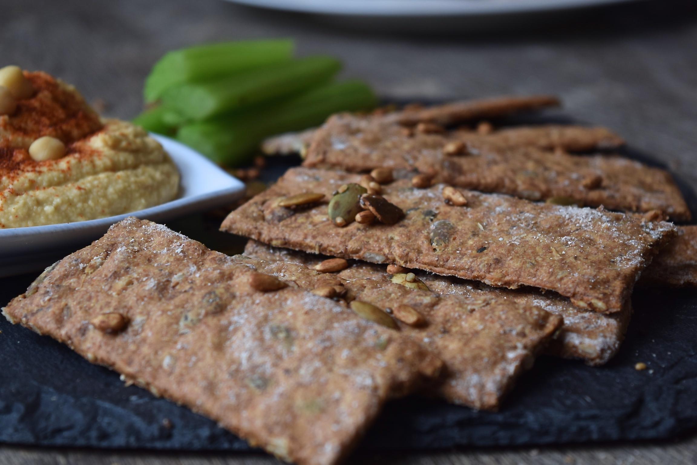 Tribe Tamari Seed Spelt Crackers | The Herb Diaries