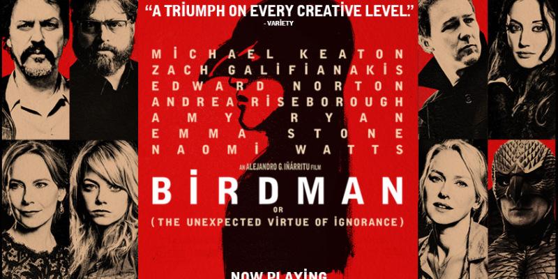 BIRDMAN  de Alejandro G. Iñárritu