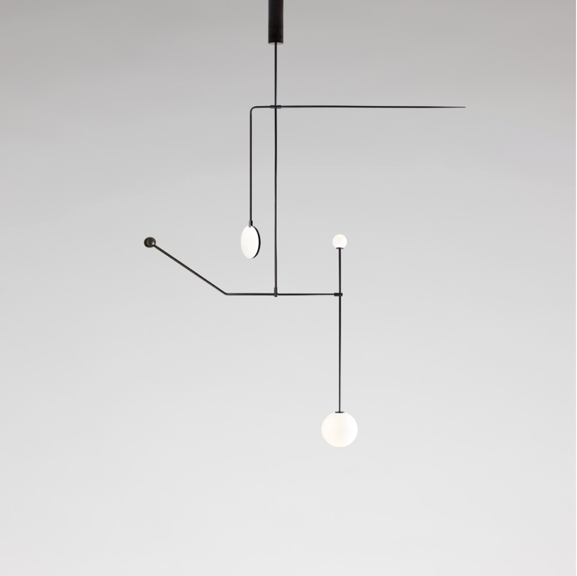 Mobile Chandelier 6 by Michael Anastassiades