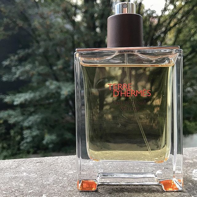 Exciting about this new creation fragrance 💫 Terre d'Hermès Eau Intense Vetiver @hermes #terredhermes #eauintensevetiver #christinenagel #vetiver #sichuanpepper #greenbergamot #madeinfrance #autumn #hermesparfums #sophiecarreepr