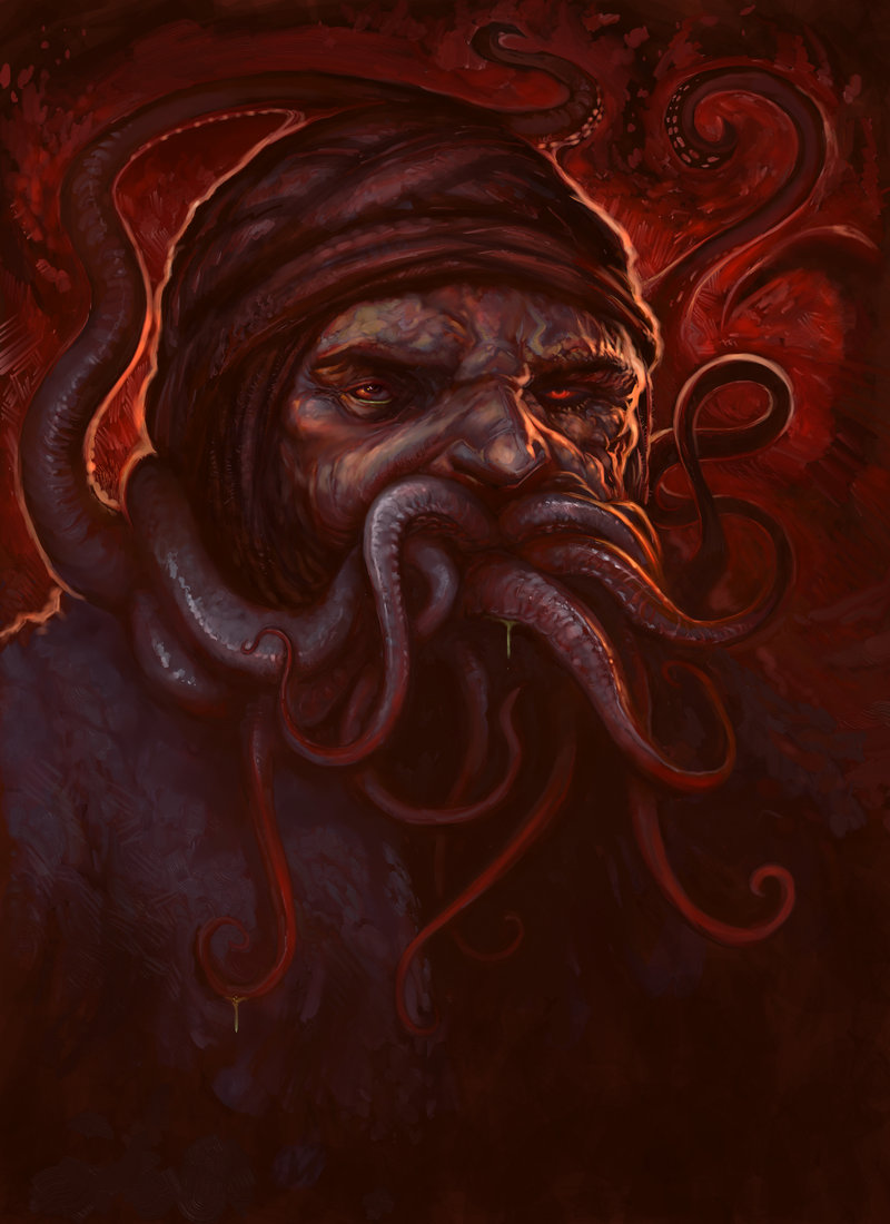 Tentacle Mouth  by  Scott Purdy