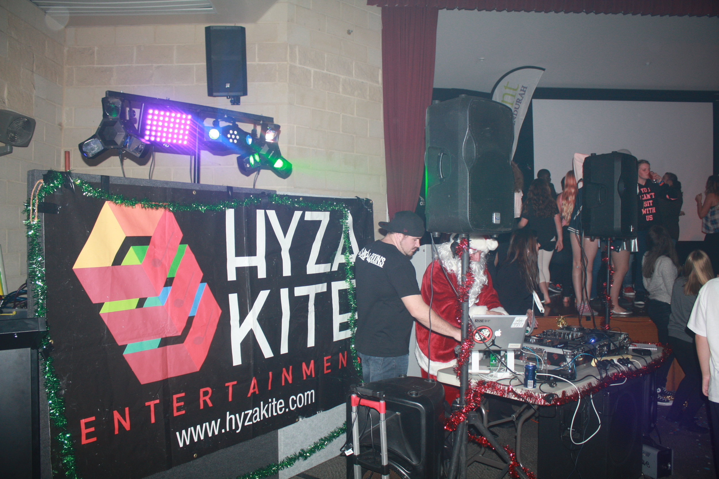 Hyza Kite Entertainment provide a safe environment for tweens to have a good time
