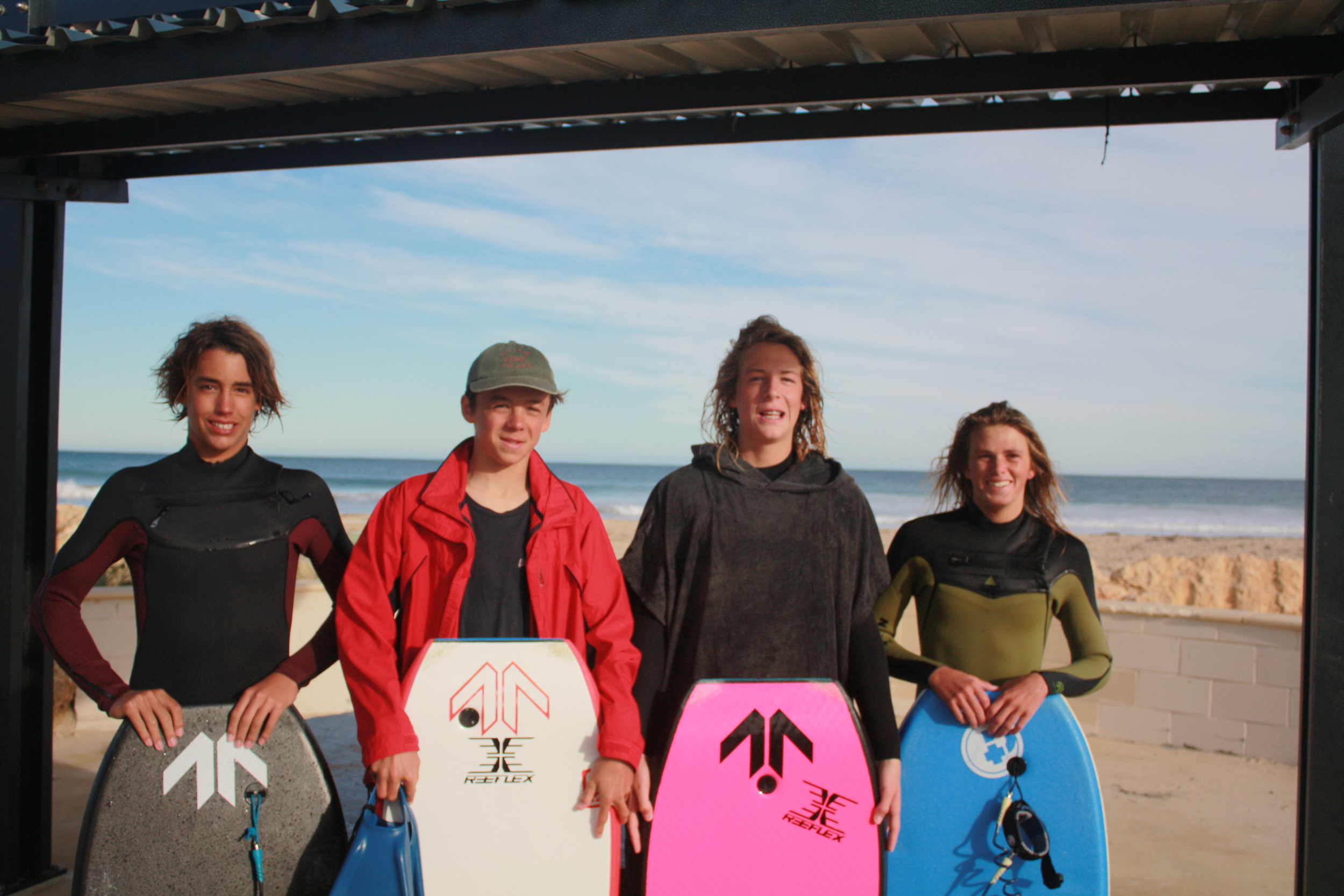 L-R Matt, Henry, Kai and Jordyn are heading to Nationals in Coffs Harbour