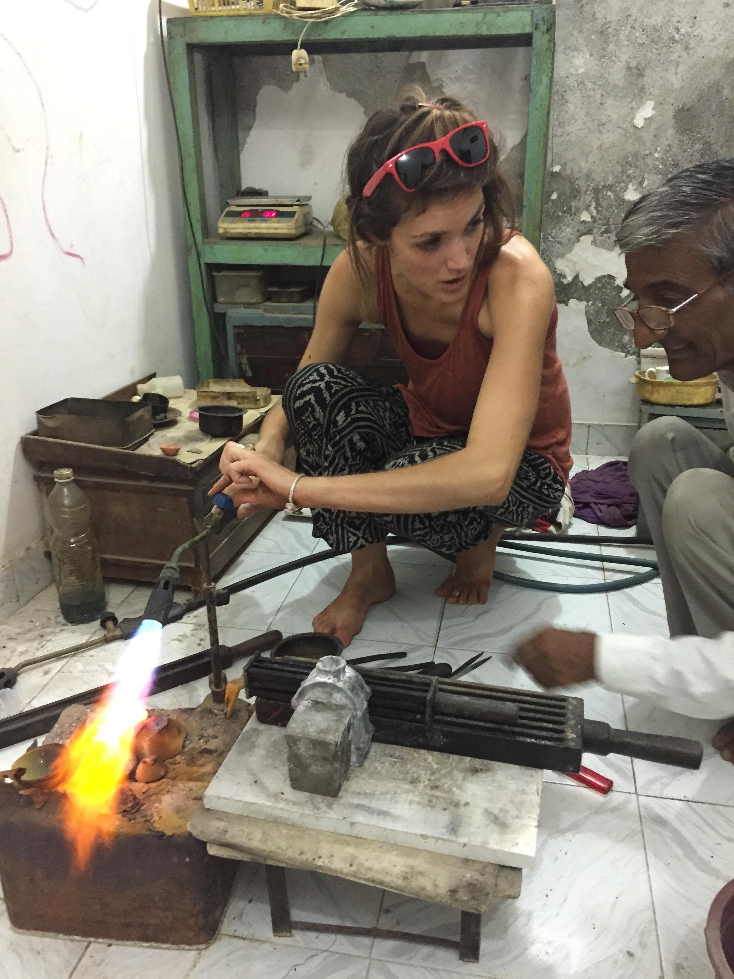 Lindsay Carone, India