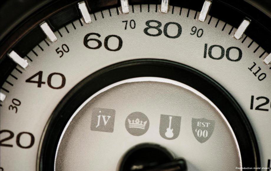 2013 Chrysler 300 John Varvatos Special Edition gauge design