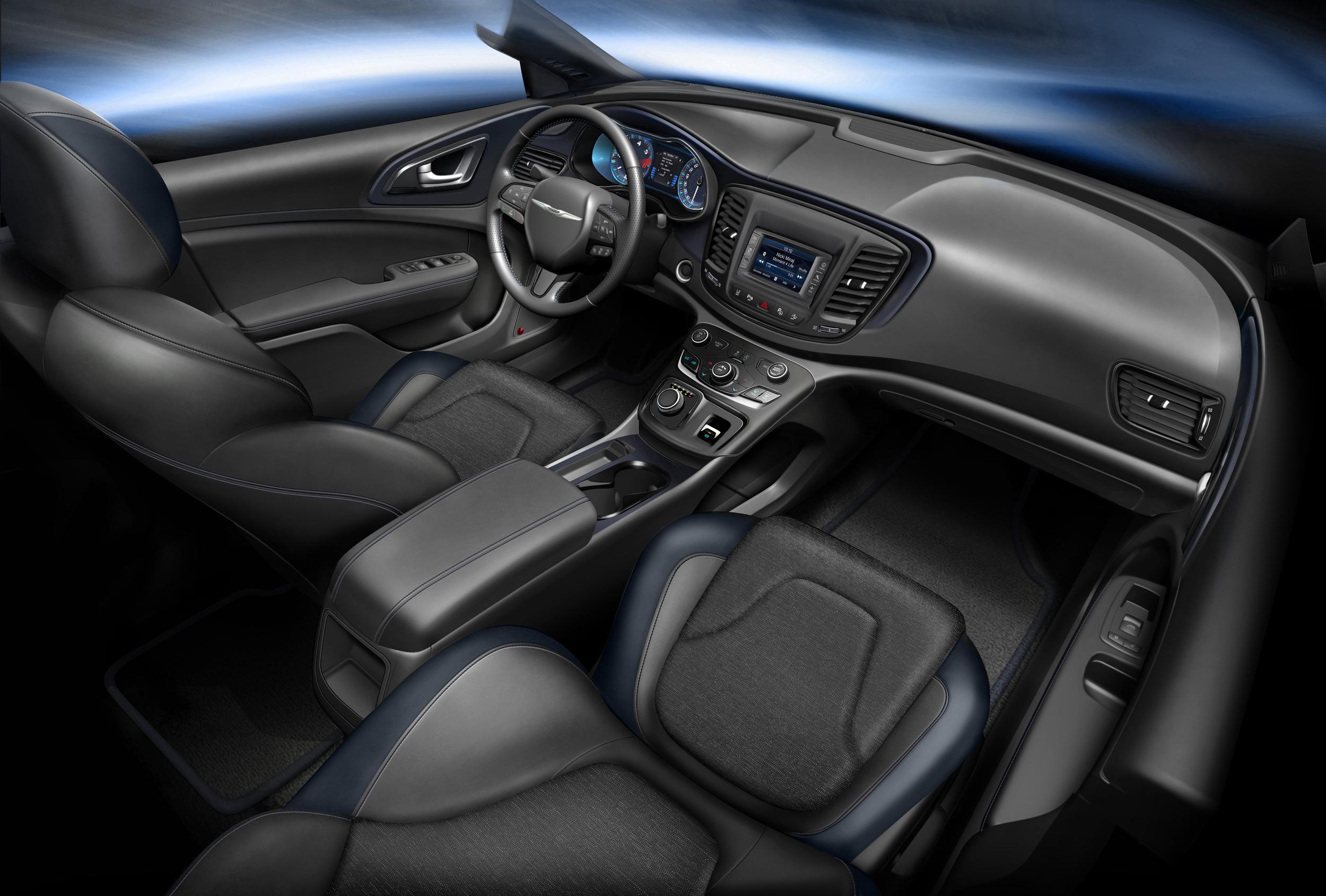 2014 Chrysler 200 gauge design