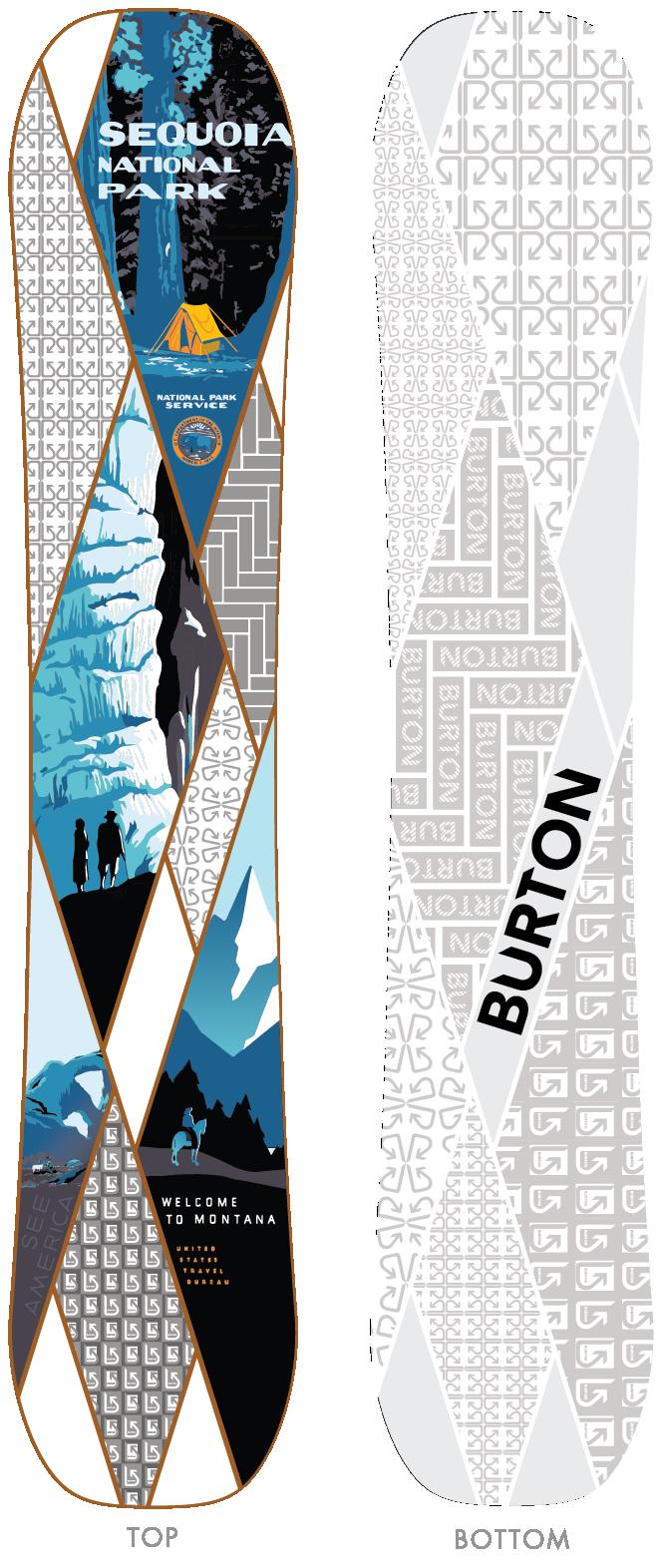 Burton Show Dog snowboard design proposal