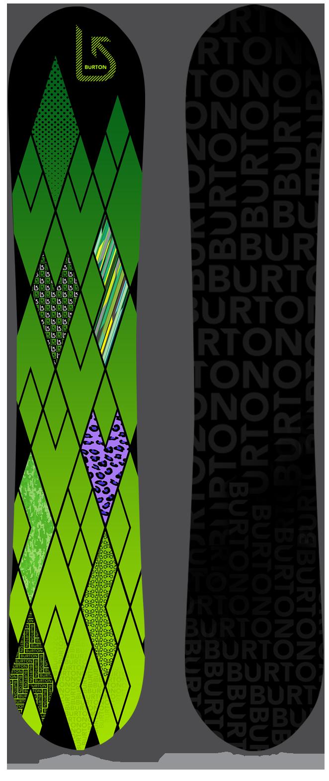 Burton Tattletale snowboard design proposal