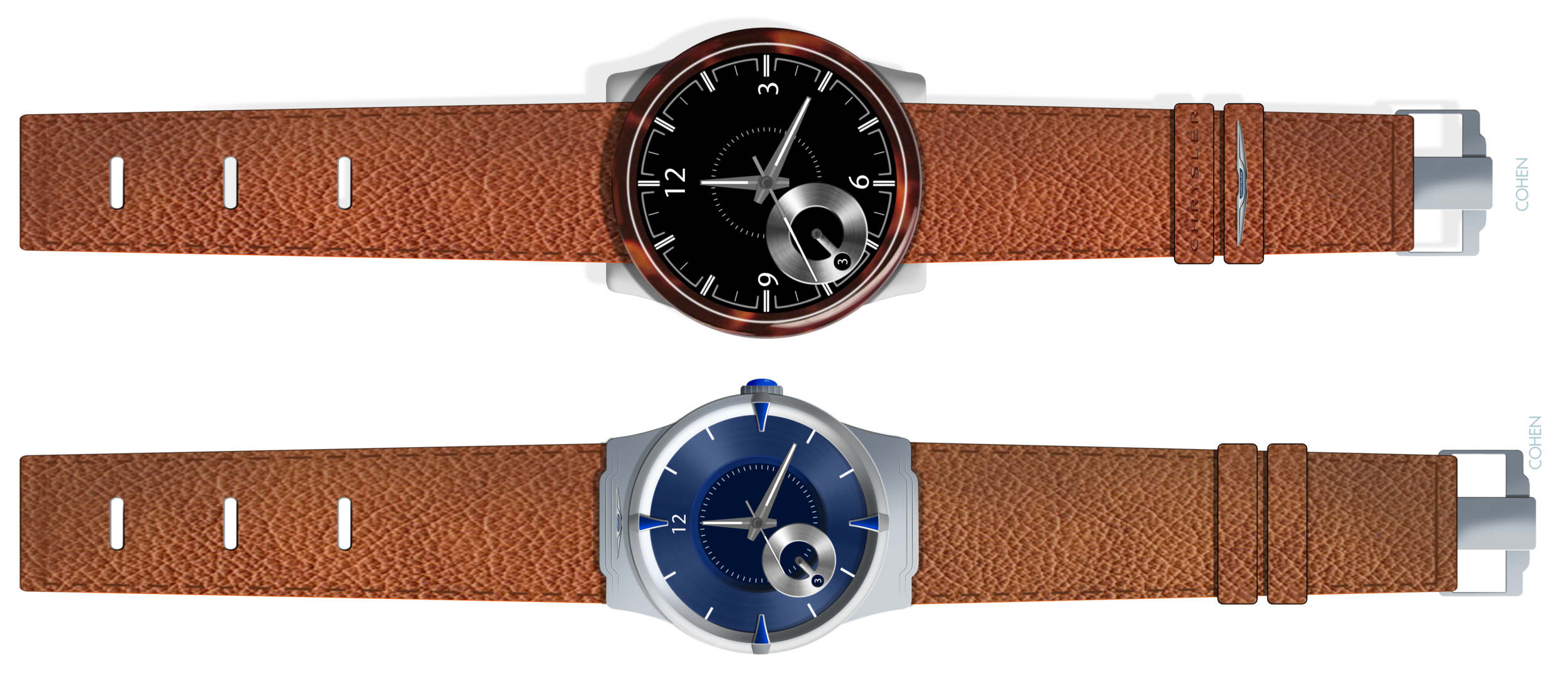 Chrysler banded watch proposals