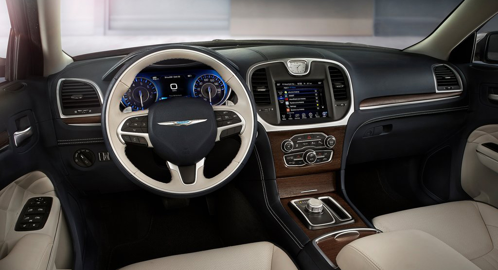 2015 Chrysler 300  gauge design