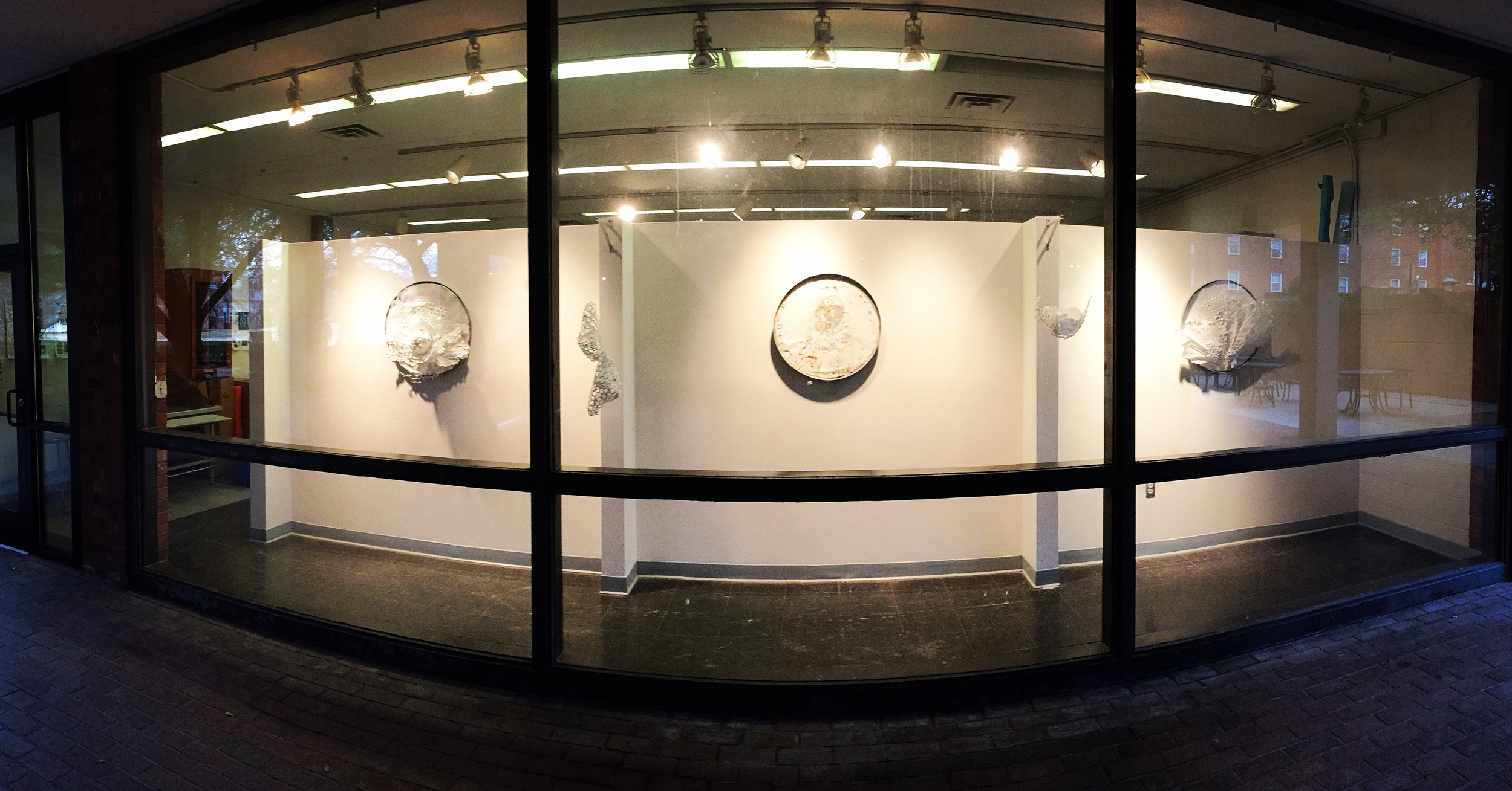 Gallery view at Converse College