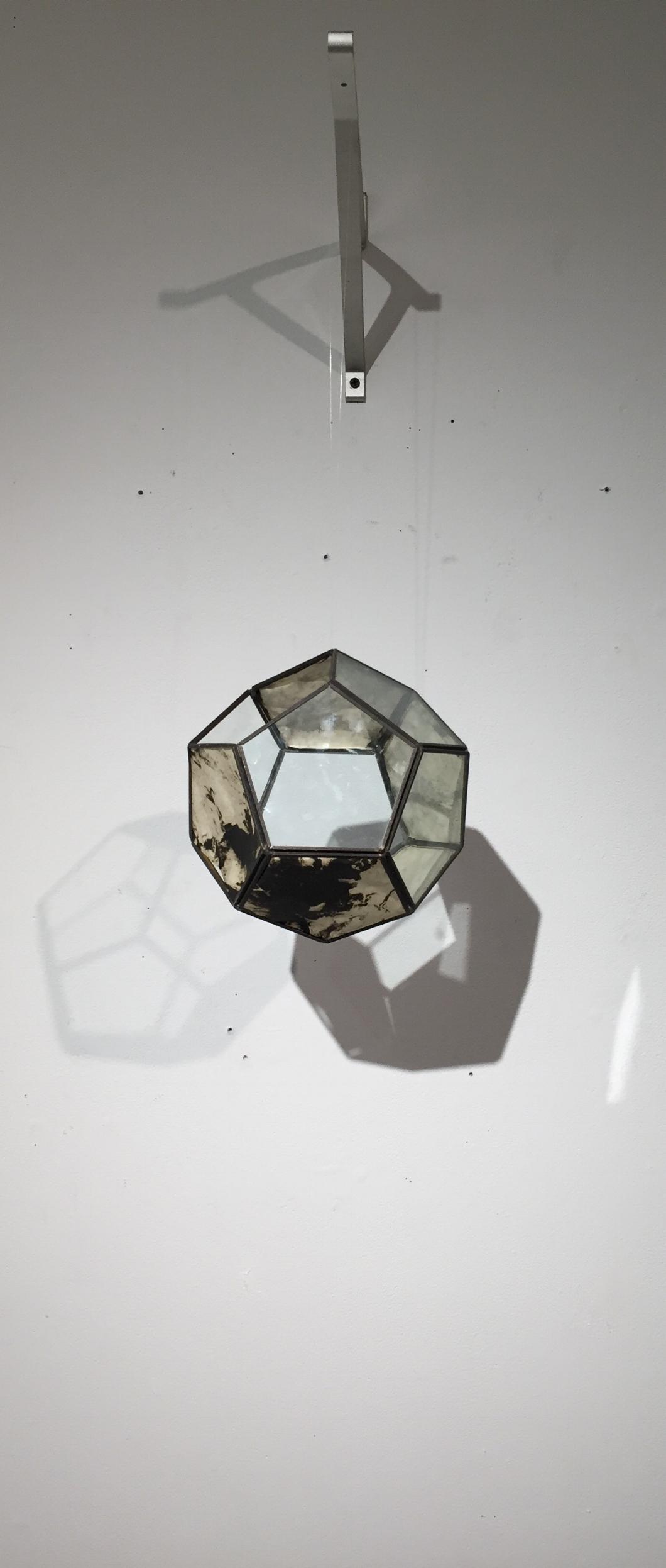 Photo polymer print with metal frame