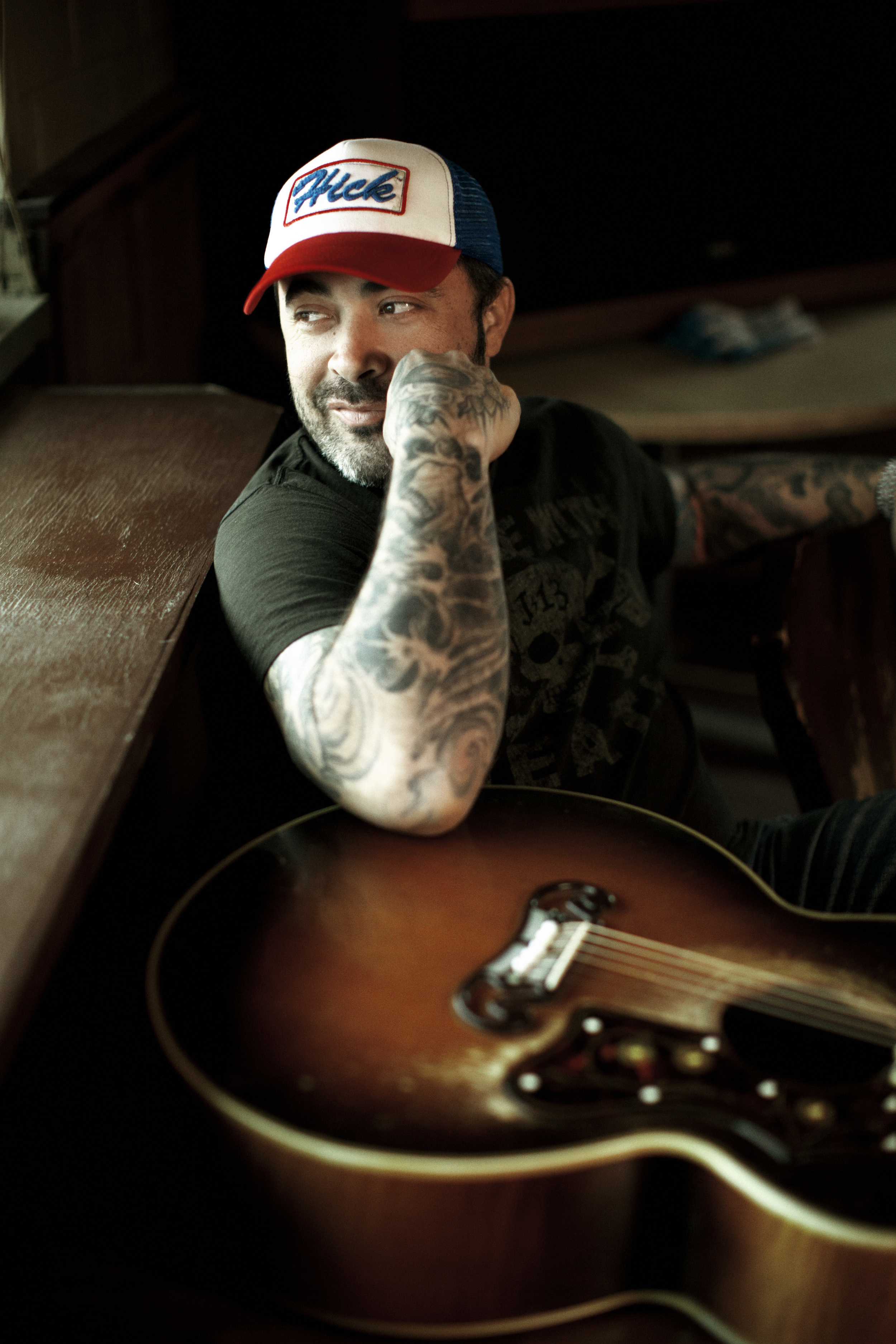 """Life is circular. Country just came back to me. It's like the acoustic thing. I did that before the band [Staind]. This is full circle because this was the first music I was ever exposed to as a child.""    -- AARON LEWIS"