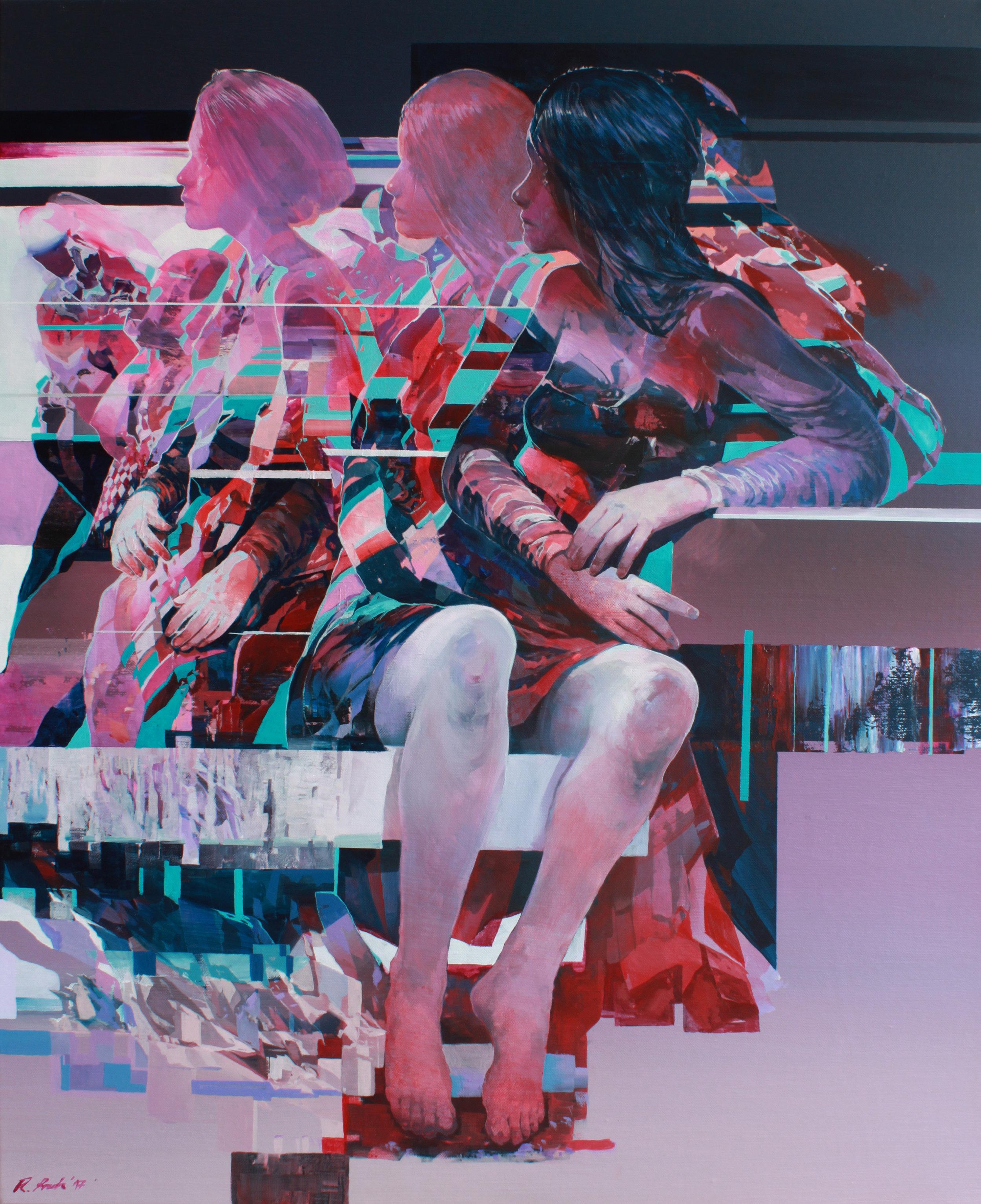 'WaitingII' 100x80cm acrylic on canvas 2017.jpg