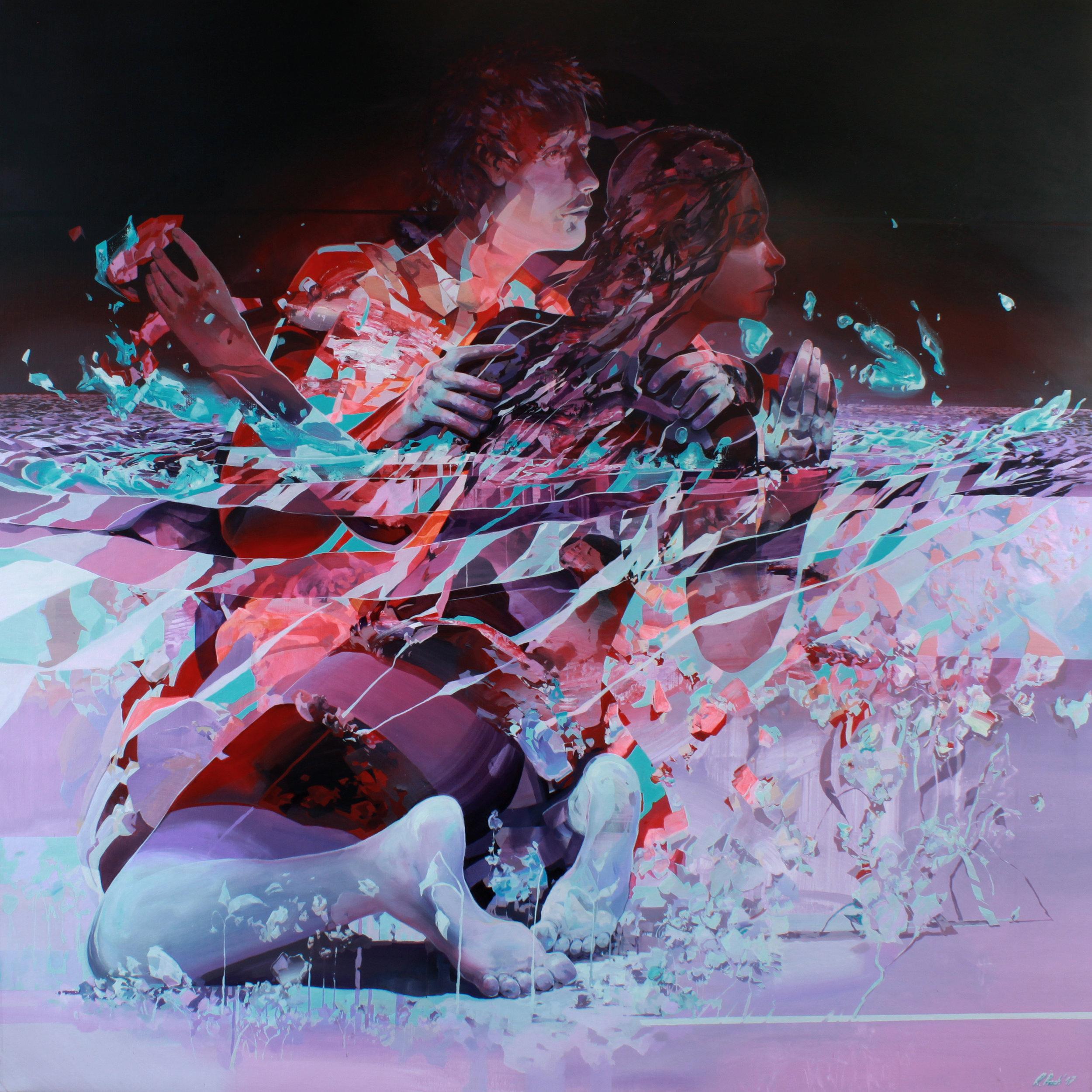 'Things you didn't tell me' 180x180cm acrylic on canvas 2017.jpg