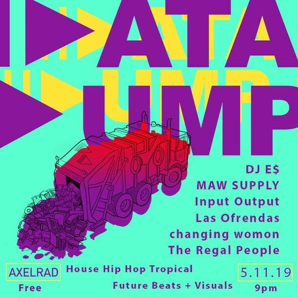 We holdin it down for H-town on on Saturday May 11th! #datadump is back in full effect for version 7.0. @lasofrendas and @mawsupply will be on deck vending their amazing collections. @bburgerqueenn and @changingwomon are on board with us to serenade you with selective sounds. @1nput0utput will be serving out the visual data to open up that pineal gland. ✨