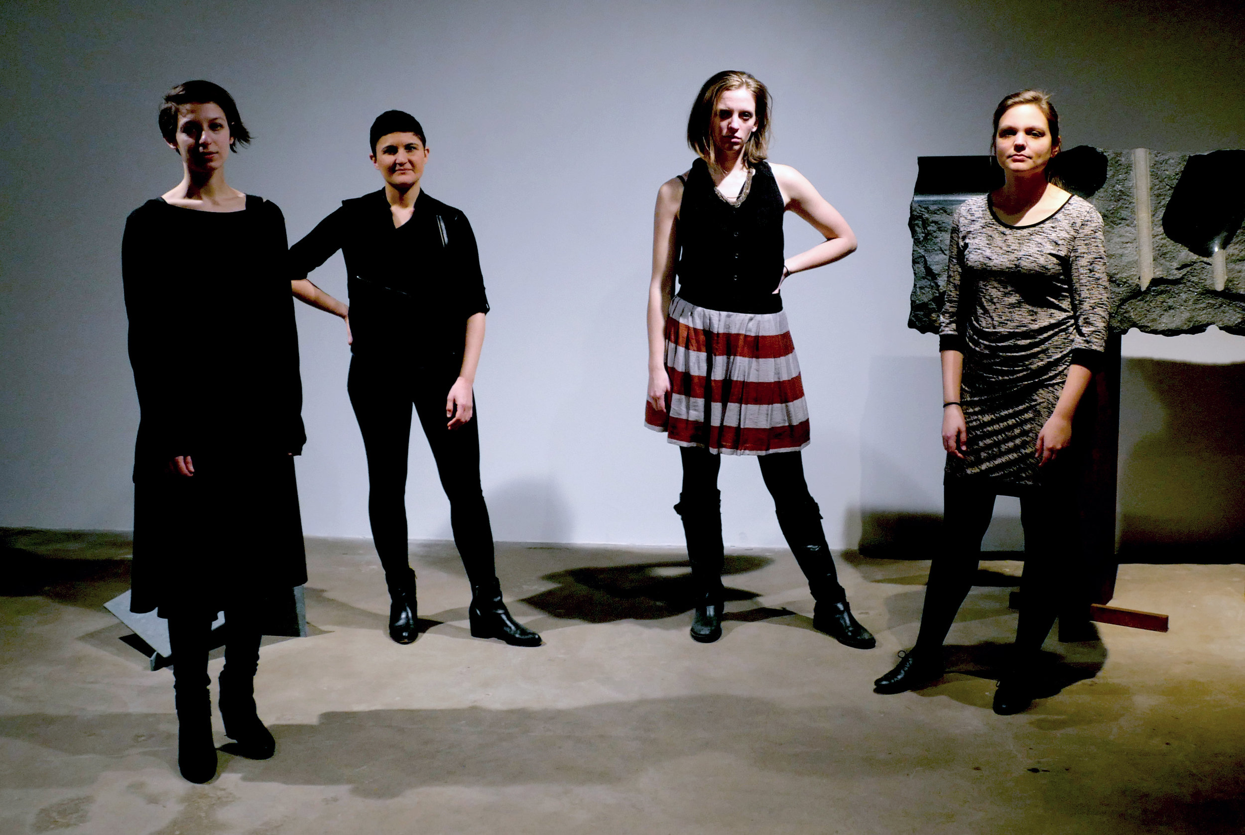 The Rhythm Method string quartet