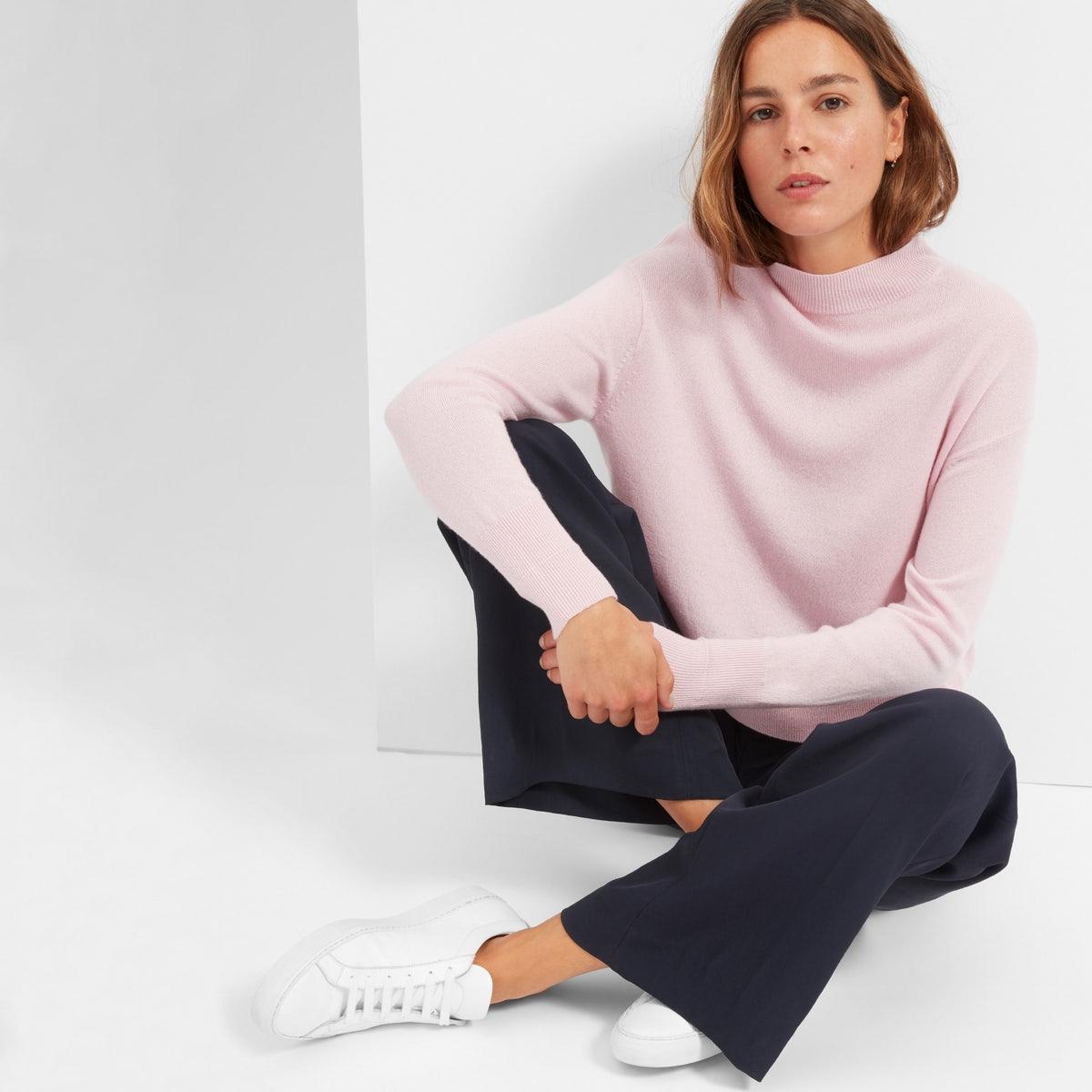 Everlane pink mockneck sweater.jpg