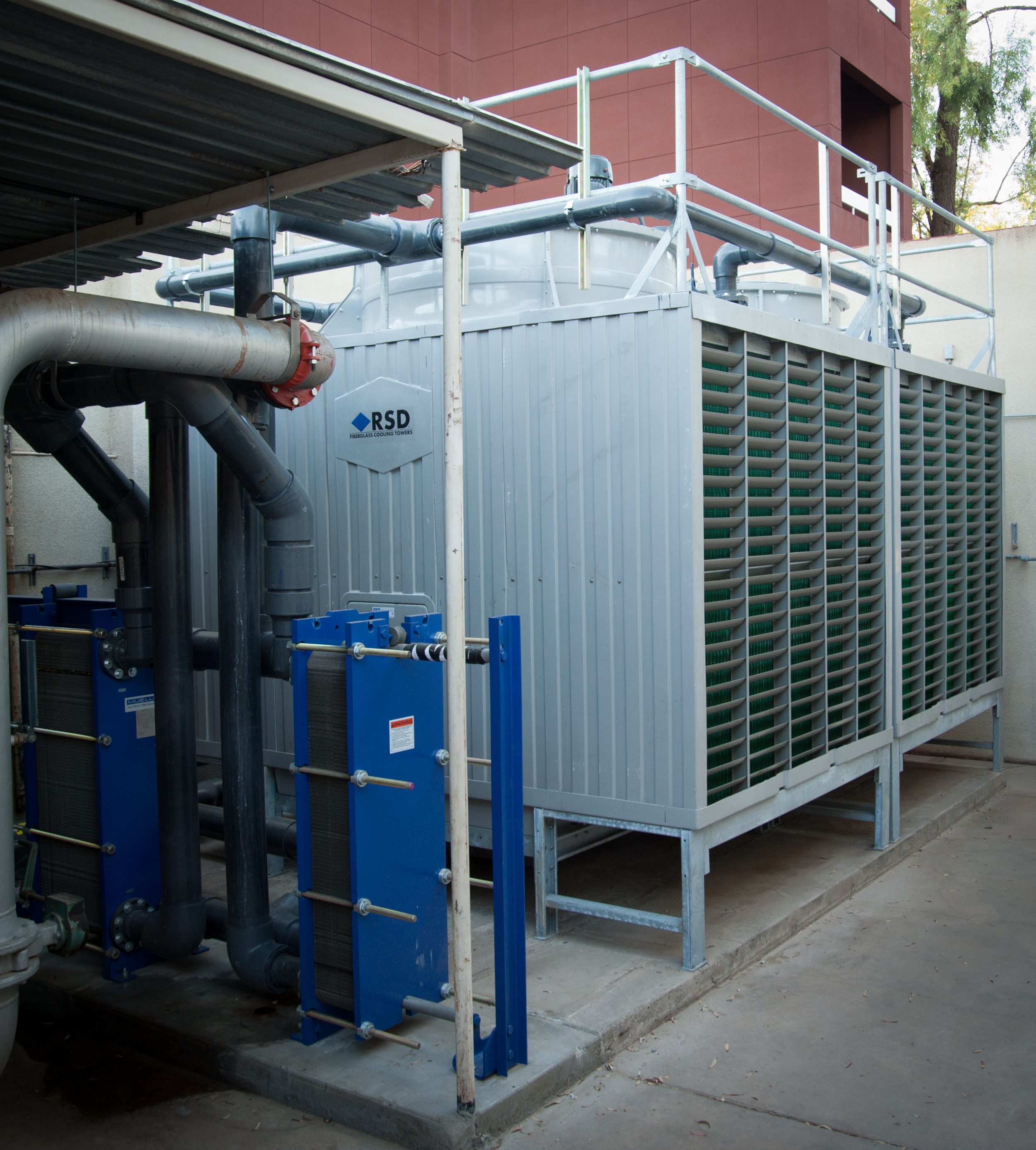 Chillers, Cooling Towers, Fluid Coolers, Boilers, Water Source Heat Pumps