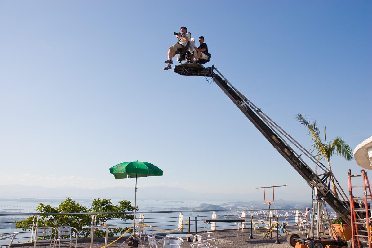 Photoshoot for Ericsson on Sugarloaf Mountain, Rio de Janeiro, Brazil