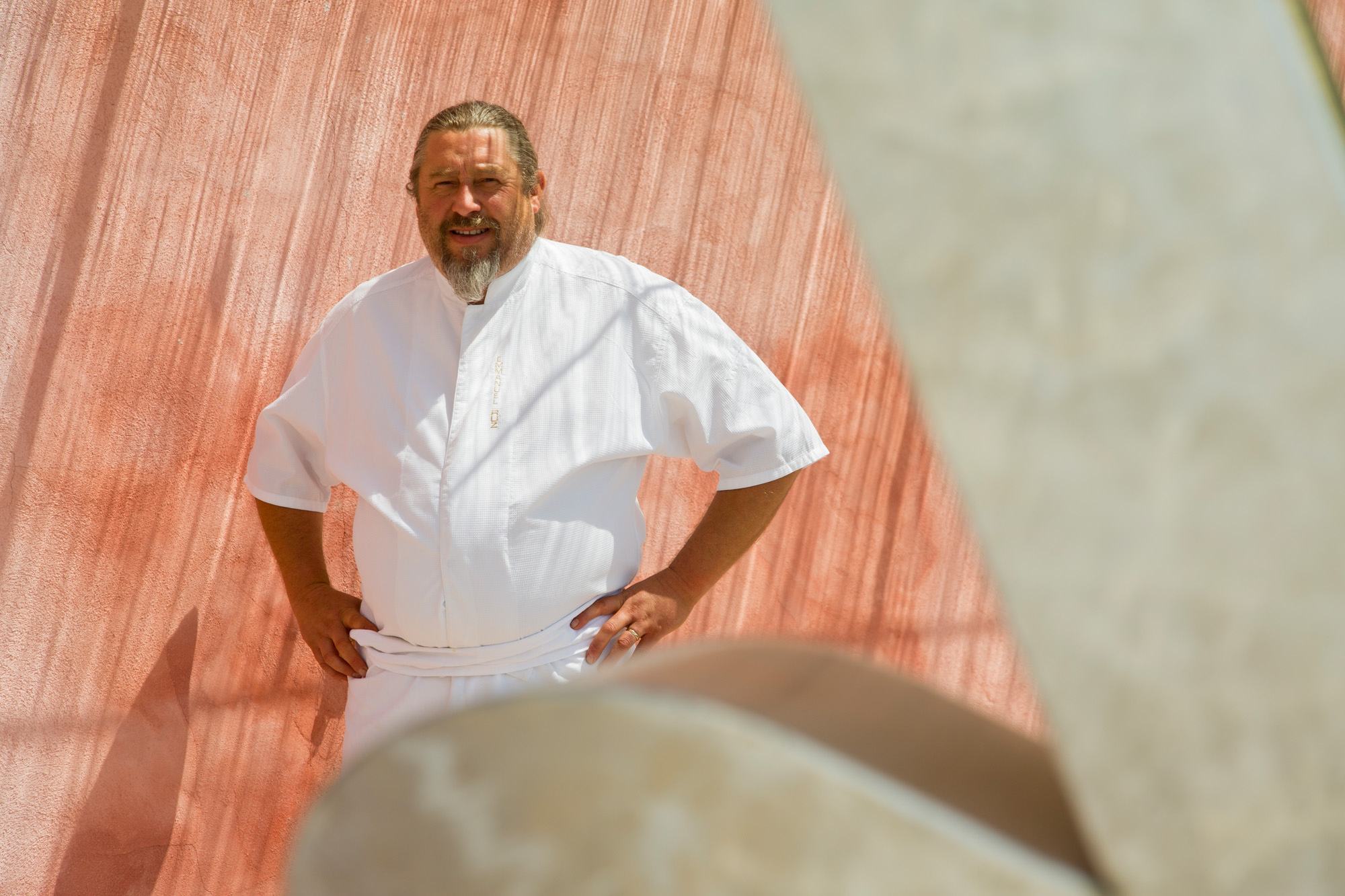 Chef Emmanuel Ruz at Lou Fassum Restaurant Gastronomique, Grasse, France