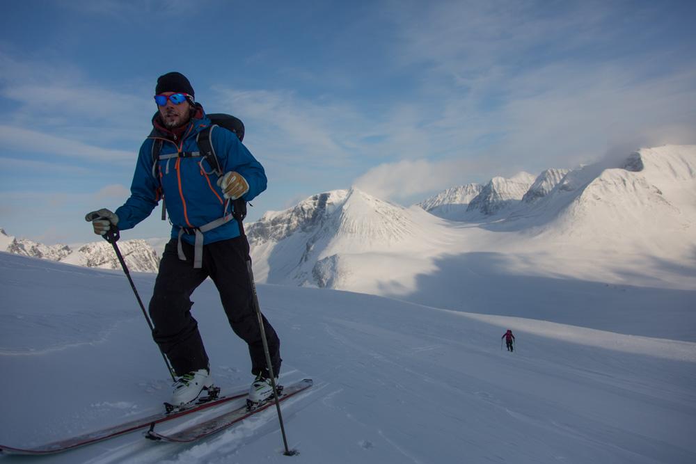 Oscar Oppenheim, Nallo, Kebnekaise Mountain Range, Lapland, Sweden