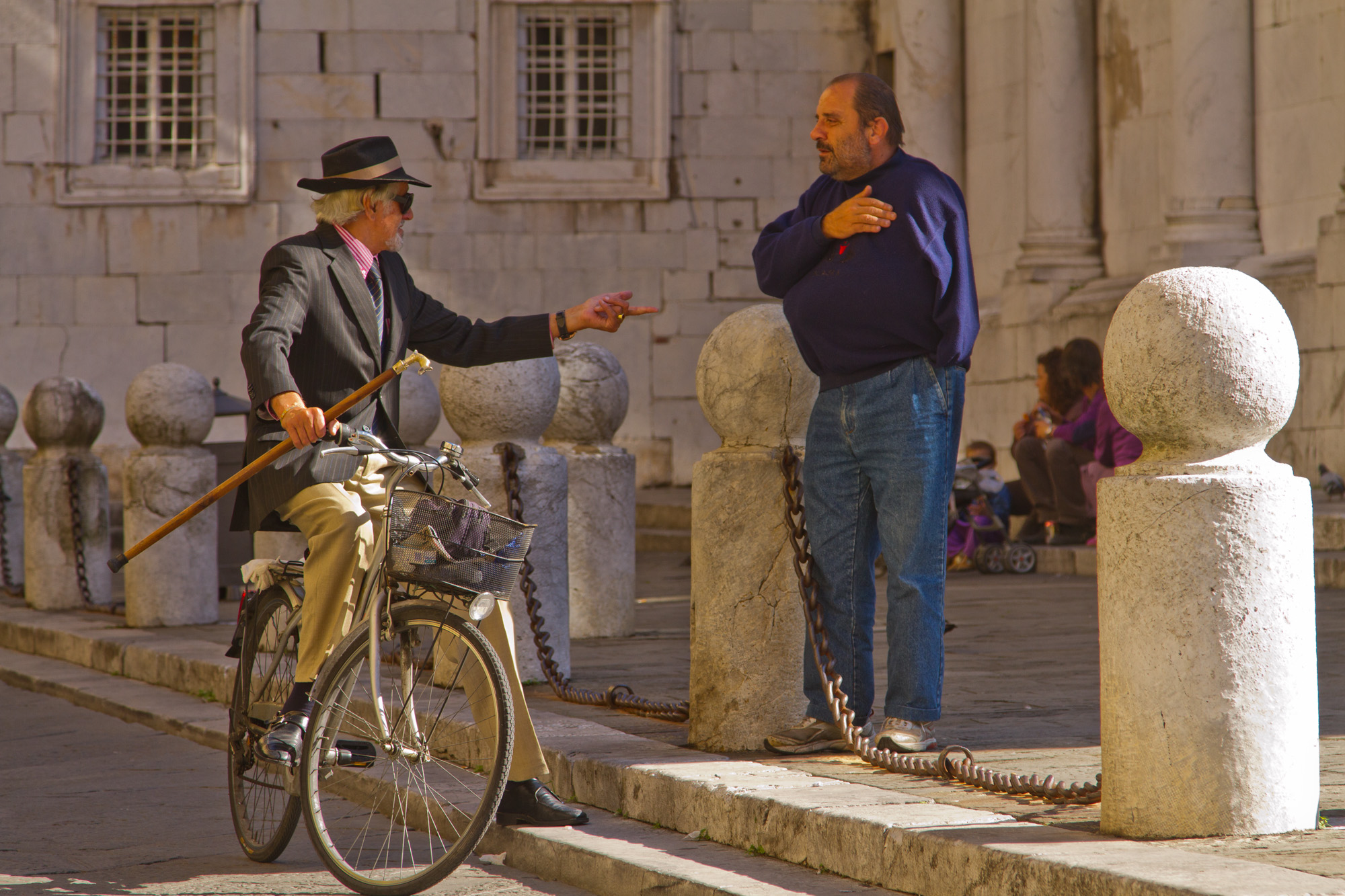 Small Talk, Lucca, Italy