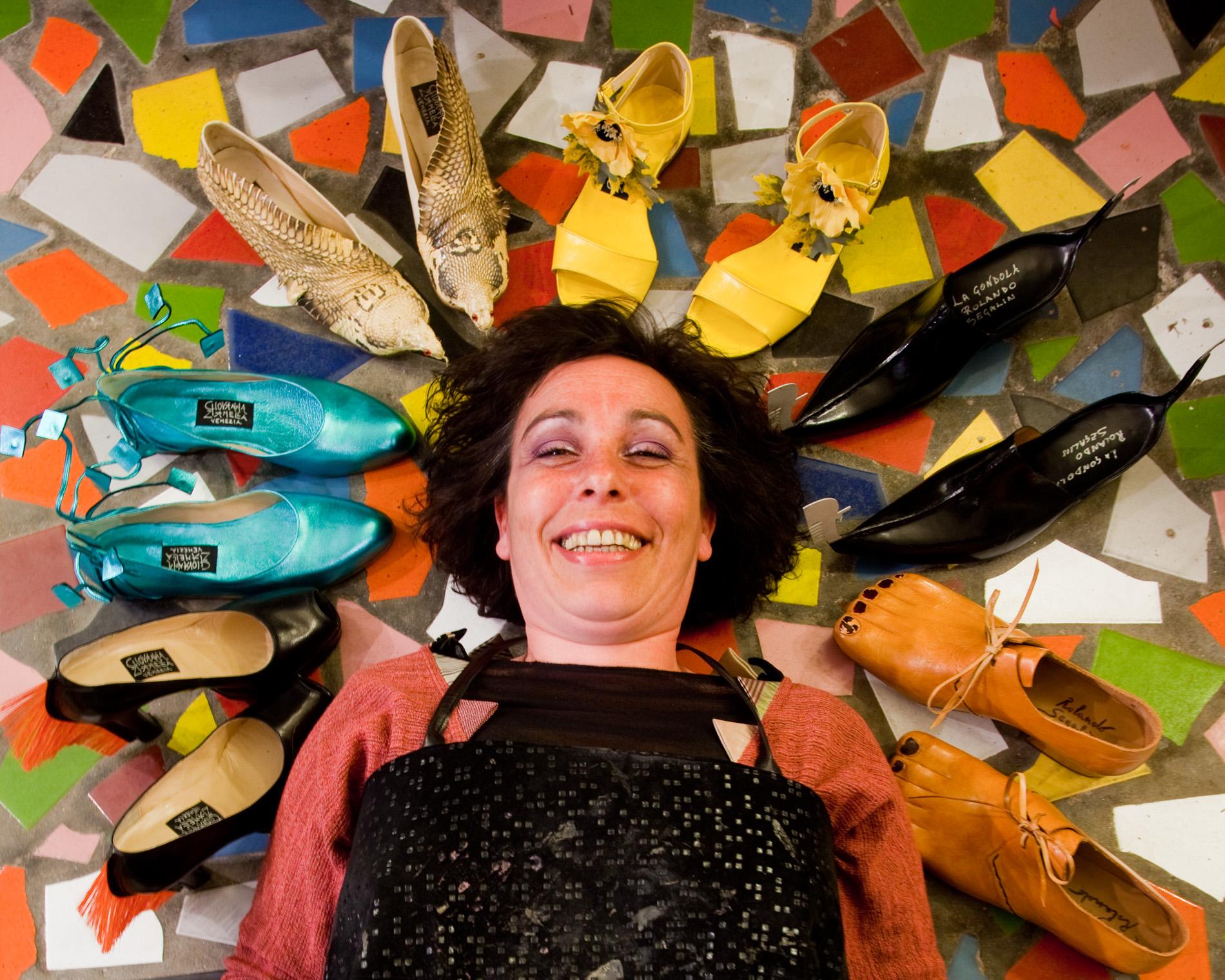 Giovanna, Shoe artist, Venice, Italy