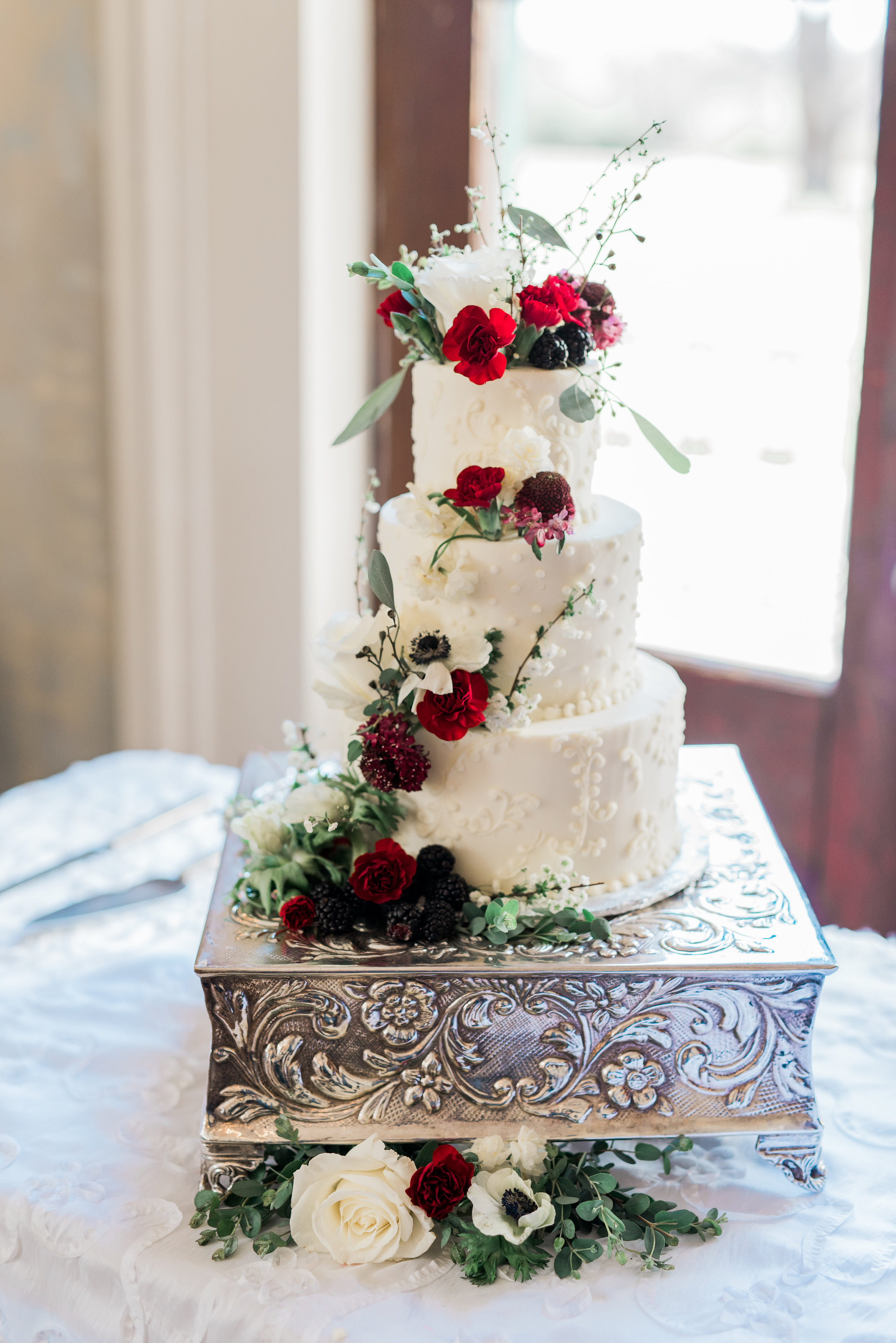 Detailed Cake with Floral and Fruit.jpg
