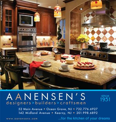 Kitchen design, print ad