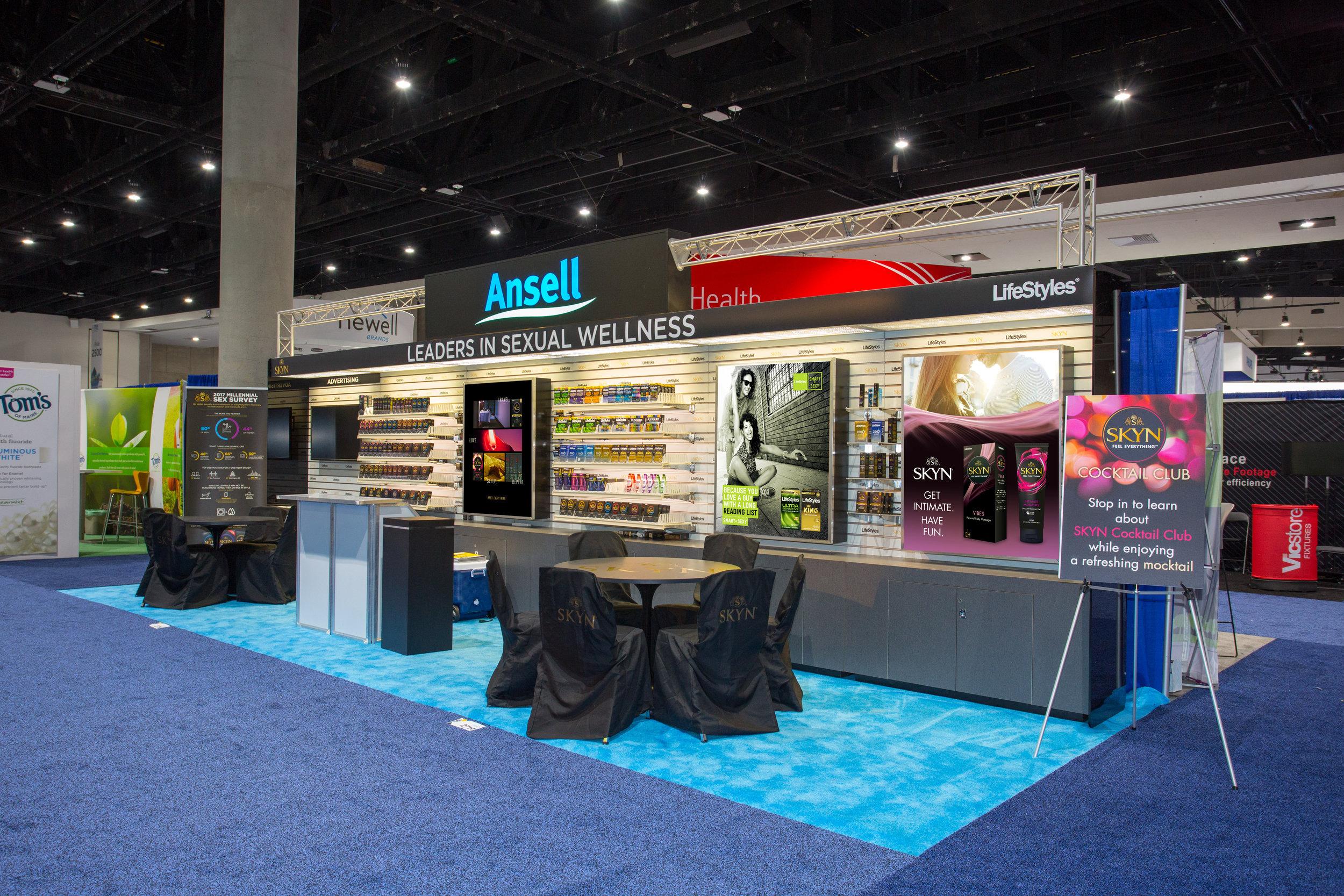 LifeStyles Condoms Tradeshow Booth