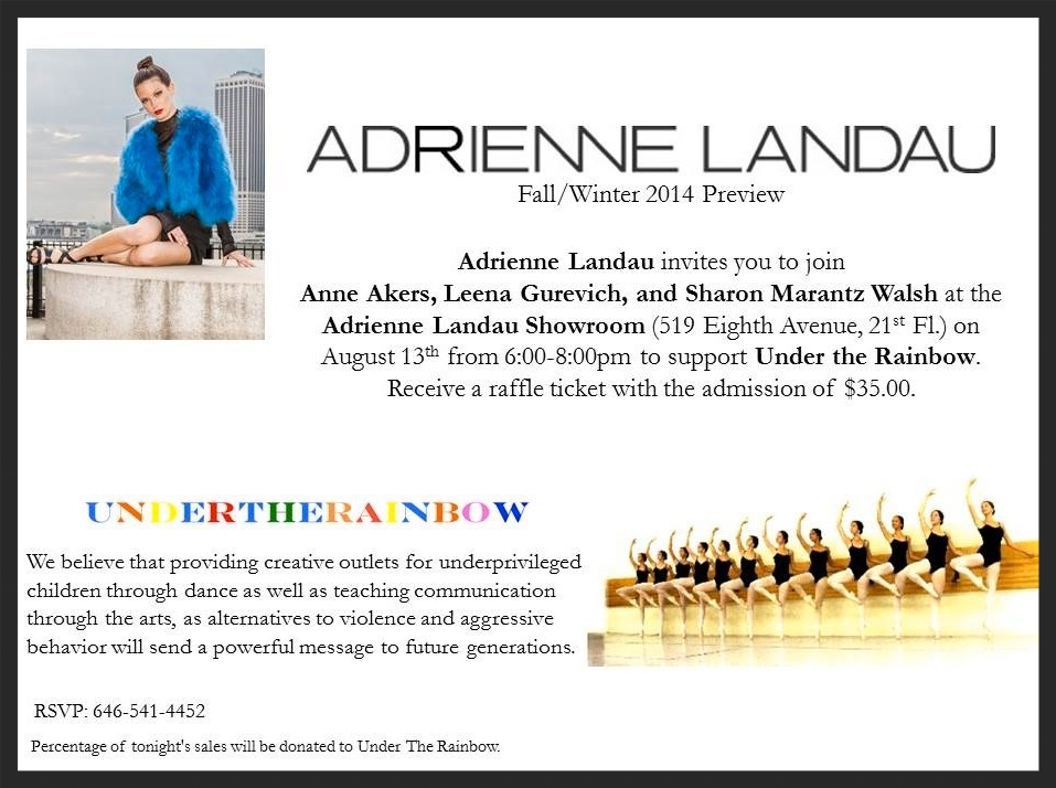 August 13th 2014 at Adrienne Landau Studios