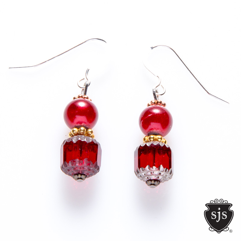 Sparkle Earrings, hundreds of hand made desgins to choose from at $25 retail