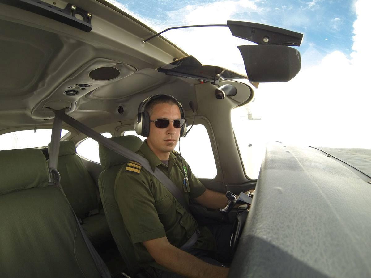 Survey pilot Felix Borner