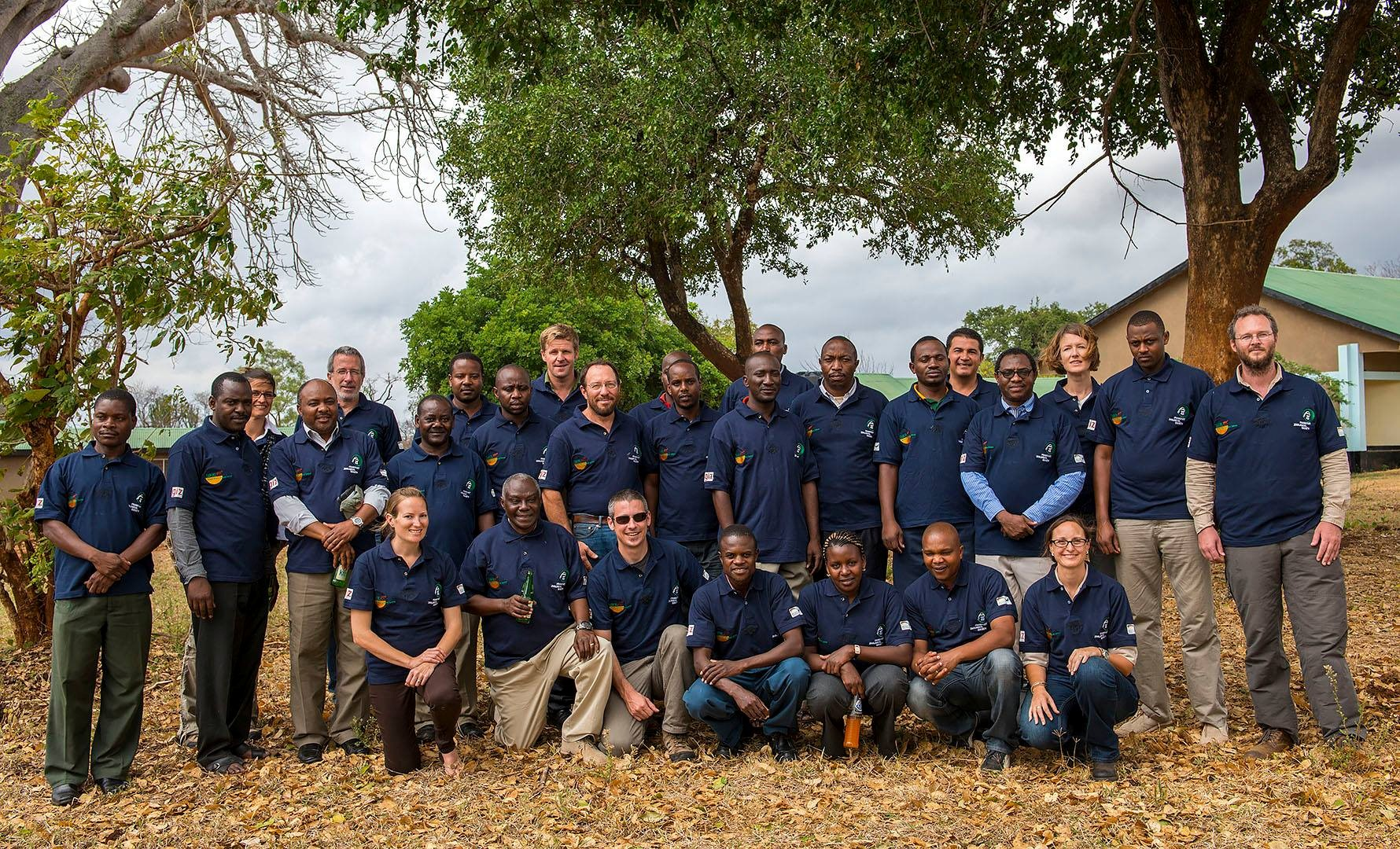 The Serengeti survey team