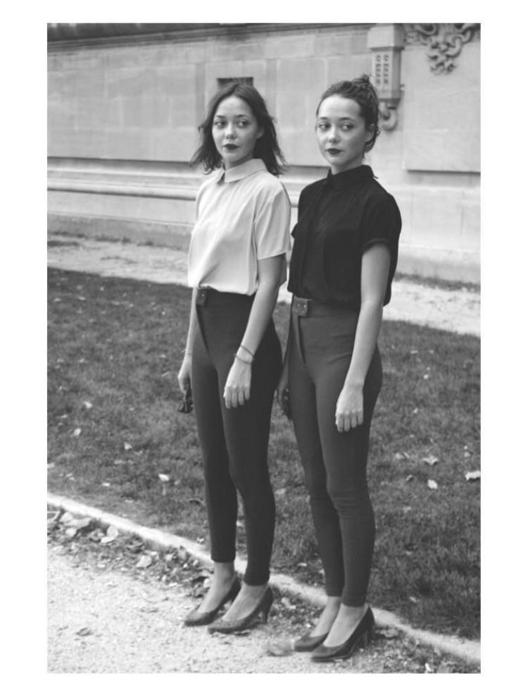 The queens of the Peter Pan collar.