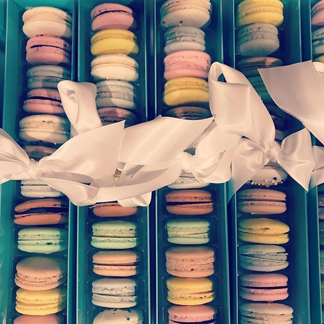 And 600 #macarons later! This week there will be some happiness spread around #Nashville
