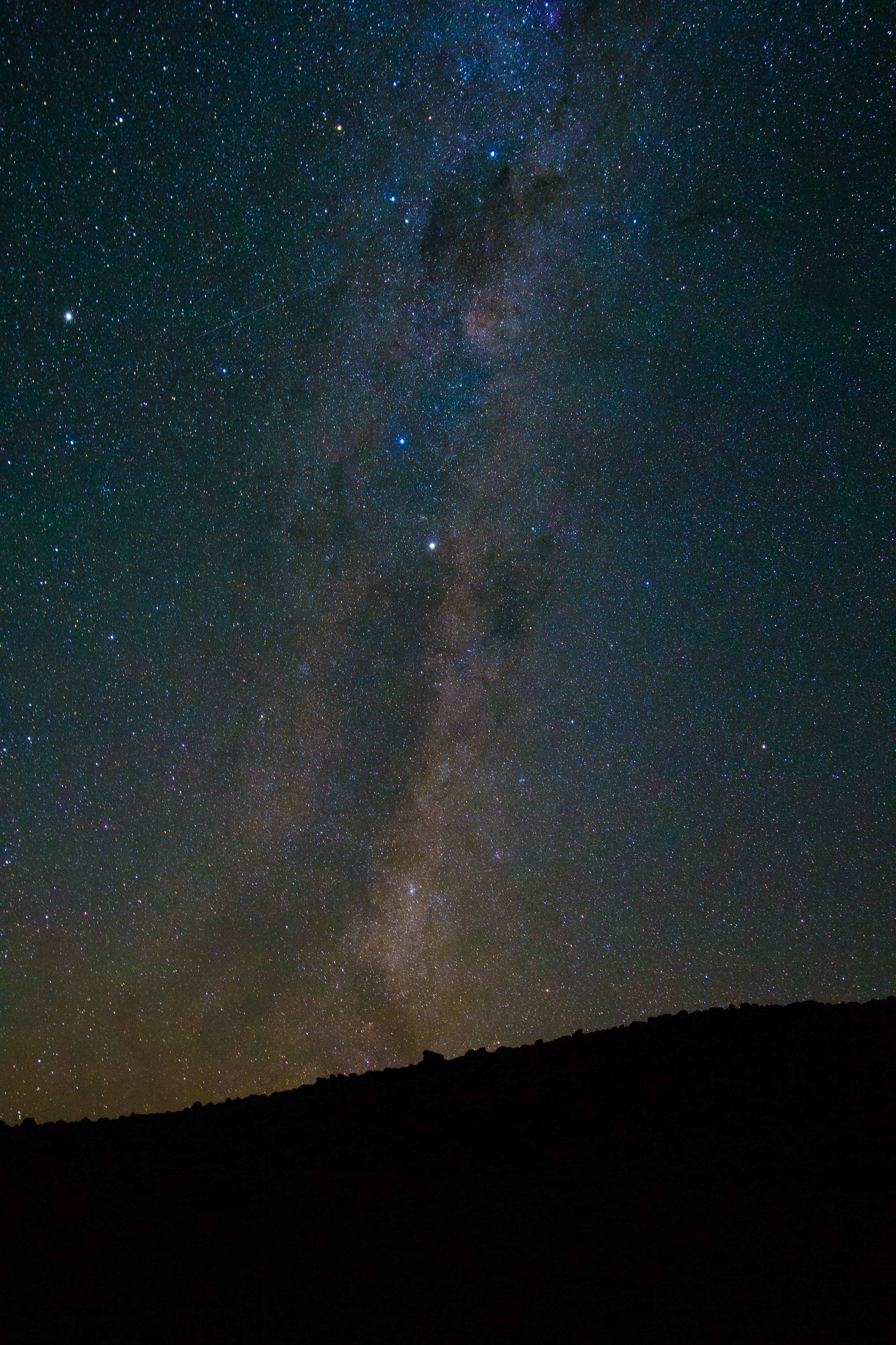 Milky Way Shot from High Camp on Volcán Maipo, Argentina/Chile - 12,005' (3,659m)