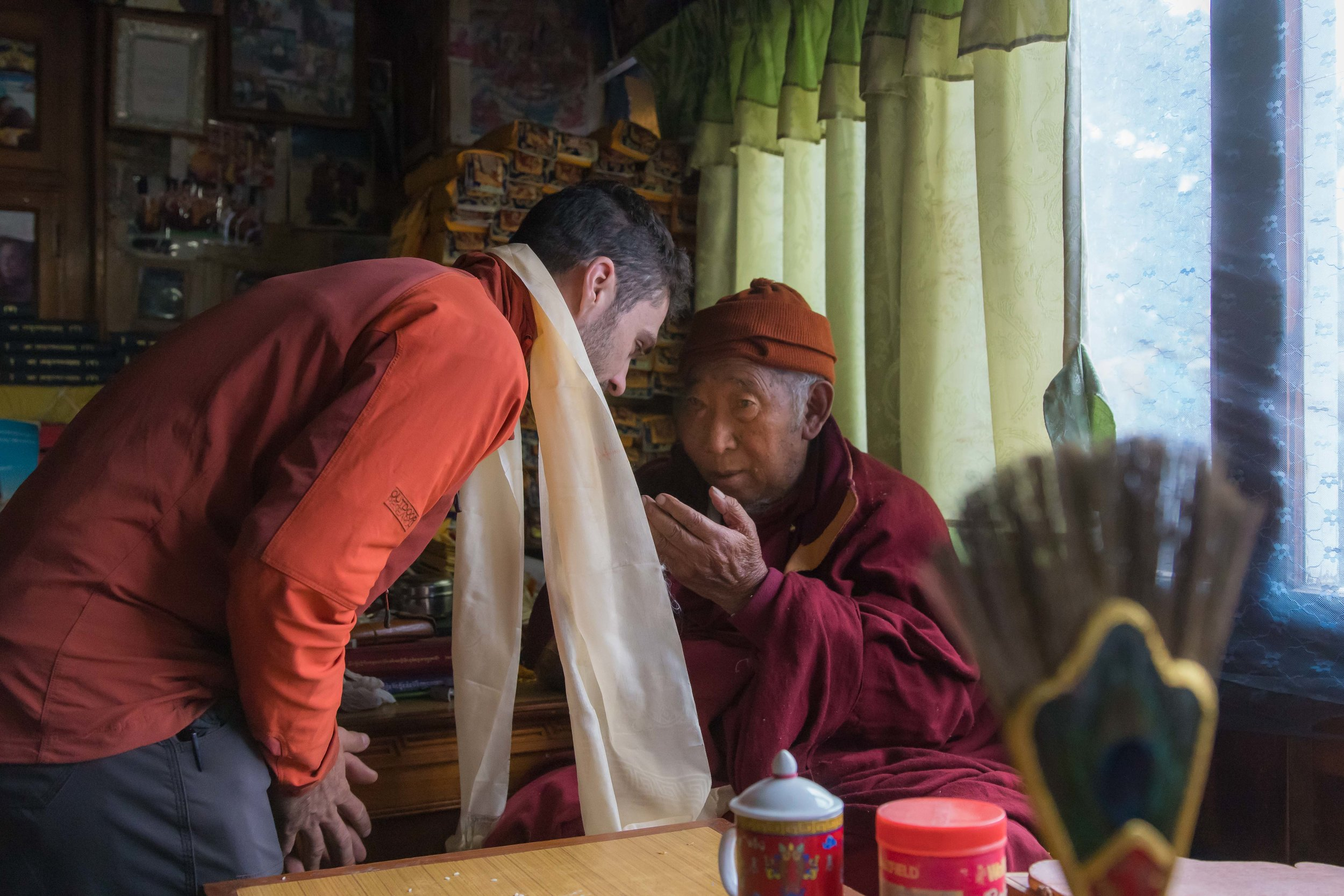 My blessing from Lama Geshe