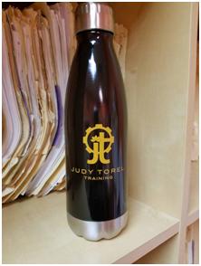 Judy Torel Training Stainless Steel Water Bottle - $22