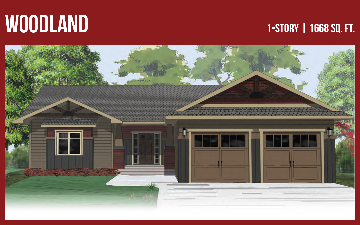 StoneMill Home Plan Woodland
