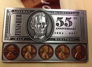 Lincoln Presidential Half Marathon Detours