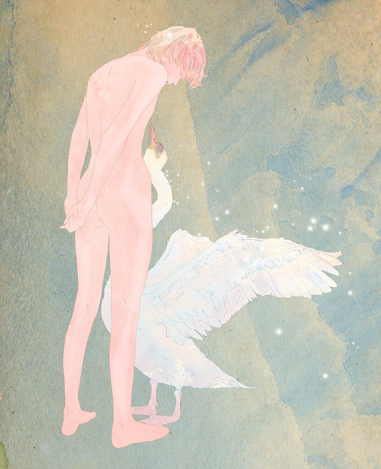 Leda and the Swan I