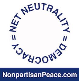 Net Neutrality = Democracy @Nonpartisan Peace dotcom blue.jpg